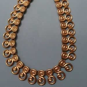 Rare Couture ANNE KLEIN Vintage Necklace.